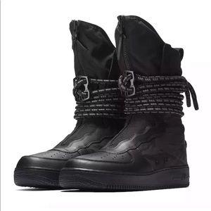 Nike SF AF1 Hi Black Grey Special Air Force 1 High